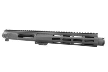 7.5 inch AR-15 NR Side Charging 300 BLACKOUT Pistol Melonite Upper w/CAN