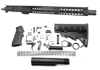 16 inch AR-15 5.56 NATO Melonite Carbine Upper w/Can Complete Kit