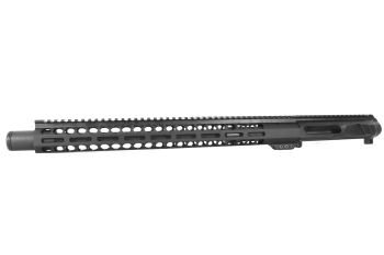 16 inch AR-15 LEFT HANDED AR-15 Non Reciprocating Side Charging 300 Blackout Upper w/Can