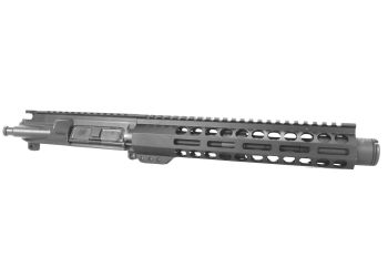 8.5 inch AR-15 9x39 Russian Caliber Pistol Length Keymod M-LOK Melonite Upper w/CAN