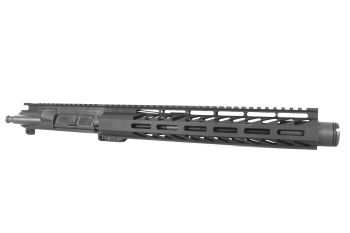 10.5 inch AR-15 458 Socom Pistol Length M-LOK Keymod Melonite Upper with Can