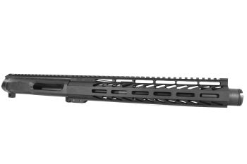 10.5 inch AR-15 Non Reciprocating 458 Socom Pistol Length M-LOK Melonite Upper w/CAN