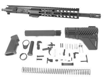 12.5 inch AR-15 350 LEGEND Pistol Length Melonite Upper Complete Kit