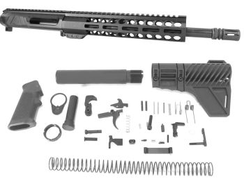 12.5 inch AR-15 Non Reciprocating Side Charging 350 LEGEND Melonite Upper Kit