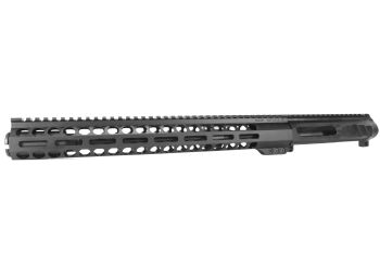 12.5 inch AR-15 LEFT HANDED AR-15 Non Reciprocating Side Charging 350 Legend Melonite Upper w/Can