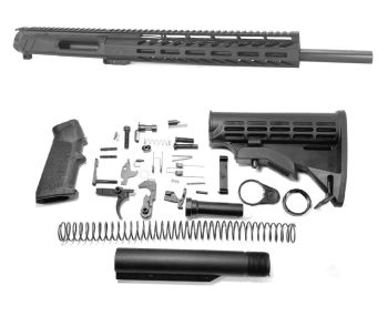 16 inch AR-15 AR15 5.56 NATO Mid Melonite Upper WITH BCG/CH Unthreaded
