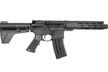 Pro2A Tactical's Patriot 7.5 inch AR-15 5.56 NATO M-LOK Complete Pistol with Flash Can