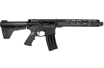 Pro2A Tactical's Patriot 10.5 inch AR-15 5.56 NATO M-LOK Complete Pistol with Flash Can