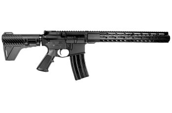 Pro2A Tactical's Patriot 12.5 inch AR-15 6.5 Grendel M-LOK Complete Pistol with Flash Can