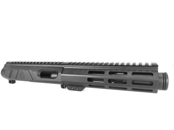 5 inch AR15 AR-15 AR Non Reciprocating Side Charging 9mm Melonite Upper w/CAN