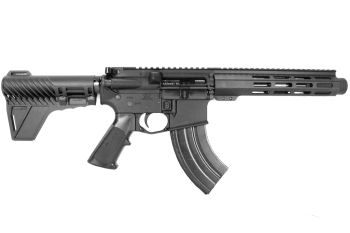 Pro2A Tactical's Patriot 7.5 inch AR-15 7.62x39 M-LOK Complete Pistol with flash can