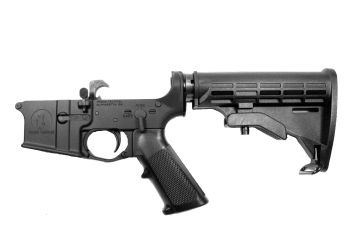 Complete Rifle Pro2A Tactical AR-15 Lower Receiver