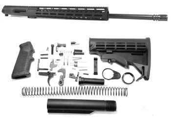 22 inch AR-15 Non Reciprocating Side Charging 224 Valkyrie Rifle M-LOK Melonite Upper kit