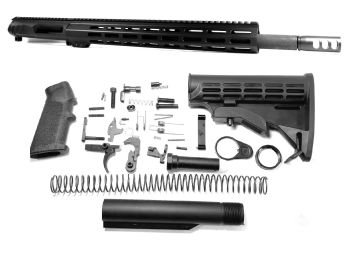 18 inch AR-15 Non Reciprocating Side Charging 12.7x42 (50 Beowulf) M-LOK Keymod Upper Kit