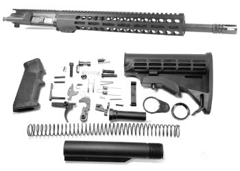 16 inch AR-15 AR15 300 Blackout Keymod M-LOK Upper kit