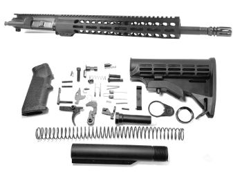 16 inch AR-15 AR AR15 350 LEGEND Carbine Length Melonite/Nitride Upper Complete Kit