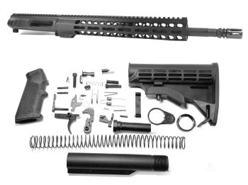 16 inch AR-15 Non Reciprocating Side Charging 350 LEGEND Carbine Length Melonite Upper Complete Kit