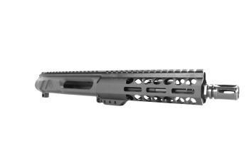 8 inch AR-15 7.62x39 NR Side Charging Pistol Length Keymod Melonite Upper