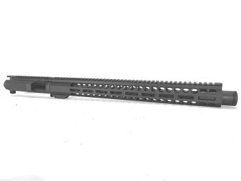 16 inch AR-15 9mm Pistol Caliber Melonite Upper with Flash Can