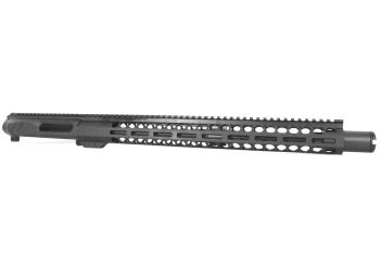 16 inch AR-15 NR Side Charging 5.56 NATO Mid M-LOK Melonite Upper w/Can