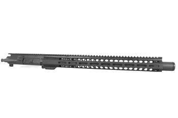 16 inch AR-15 300 Blkout Pistol Length M-LOK Upper with Flash Can
