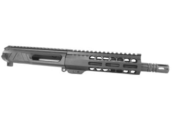 8.5 inch AR-15 Non Reciprocating Side Charging 458 Socom Pistol Length Keymod M-LOK Melonite Upper