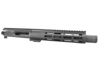 8.5 inch AR-15 Non Reciprocating 458 Socom Pistol Length M-LOK Melonite Upper w/CAN