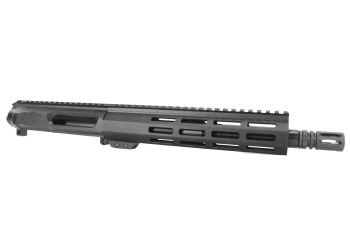 10.5 inch AR-15 Non Reciprocating Side Charging 458 Socom Pistol Length M-LOK Keymod Melonite Upper