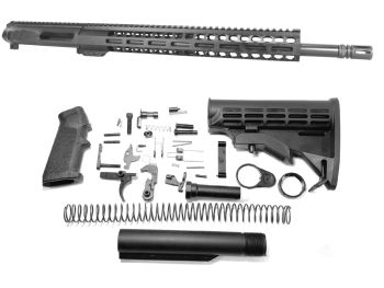 18 inch AR-15 Non Reciprocating Side Charging 350 LEGEND Carbine Length Upper Complete Kit