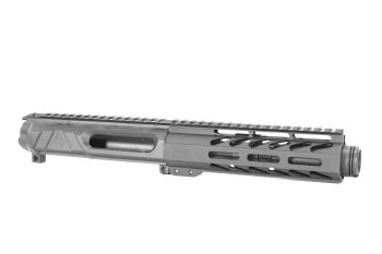 5 inch AR-15 NR Side Charging 5.56 NATO M-LOK Melonite Upper w/Can