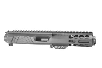 3 inch AR15 AR-15 AR Non Reciprocating Side Charging 9mm Melonite Upper w/CAN