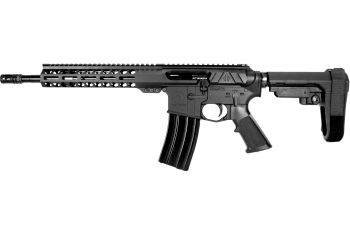 Pro2A Tactical's Valiant LEFT HAND 12.5 inch AR-15 5.56 NATO M-LOK Complete Side Charging Pistol