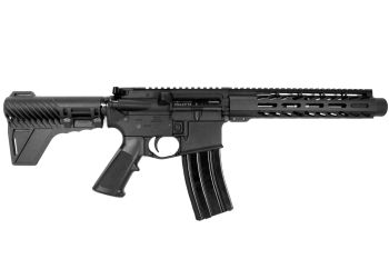 Pro2A Tactical's Patriot 8 inch AR-15 300 Blackout M-LOK Complete Pistol with Flash Can