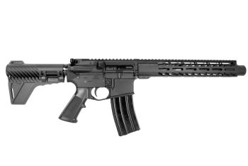 """P2A """"Patriot"""" 10.5 inch AR-15 300 Blackout M-LOK Complete Pistol with Flash Can"""