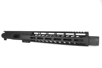 11 inch AR-15 AR15 9mm Pistol Caliber Melonite Upper with Flash Can