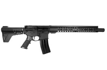 """P2A """"Patriot"""" 14.5 inch AR-15 5.56 NATO M-LOK Complete Pistol with Flash Can"""