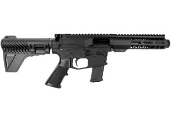Pro2A Tactical's Patriot 5 inch AR-15 AR-9 9mm M-LOK Complete Pistol with Flash Can