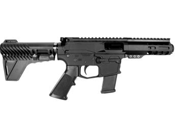 Pro2A Tactical's Patriot 3 inch AR-15 AR-45 45 ACP M-LOK Complete Pistol with Flash Can