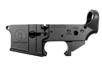 Pro2A Tactical AR-15 Stripped Lower Receiver