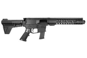 Pro2A Tactical's Patriot 8 inch AR-15 AR-9 9mm M-LOK Complete Pistol with Flash Can