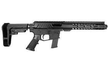 Pro2A Tactical's Valiant 8 inch AR-15 AR-9 9mm M-LOK Complete Pistol with Flash Can