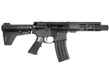 Pro2A Tactical's Patriot 6 inch AR-15 300 Blackout  M-LOK Complete Pistol with Can