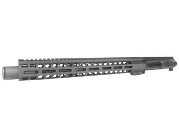 13.7 inch LEFT HANDED AR-15 NR Side Charging 5.56 NATO Melonite Upper w/Can