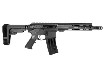 Pro2A Tactical's Valiant 10.5 inch AR-15 12.7x42 (50 Beowulf) M-LOK Complete Side Charging Pistol