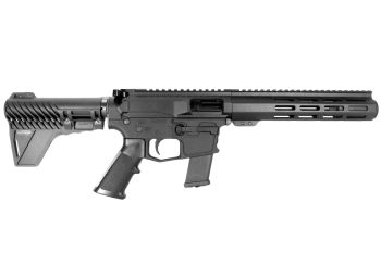 Pro2A Tactical's Patriot 7.5 inch AR-15 AR-45 45 ACP M-LOK Complete Pistol with Flash Can