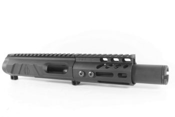 4 inch AR-15 AR15 Non Reciprocating Side Charging 45 ACP Upper w/CAN