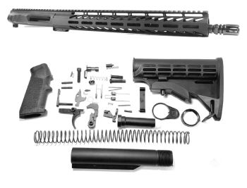 16 inch AR-15 Non Reciprocating Side Charging 6.5 Grendel Mid Length Melonite Upper Complete Kit