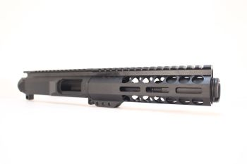 5 inch AR-15 AR15 AR 9mm Pistol Caliber Melonite Upper w/Can