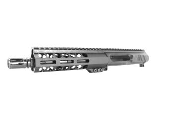 7.5 inch AR-15 LEFT HANDED AR-15 Non Reciprocating Side Charging 300 Blackout Pistol Melonite Upper