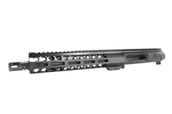 10.5 inch AR-15 LEFT HANDED AR-15 Non Reciprocating Side Charging 5.56 NATO Carbine Melonite Upper